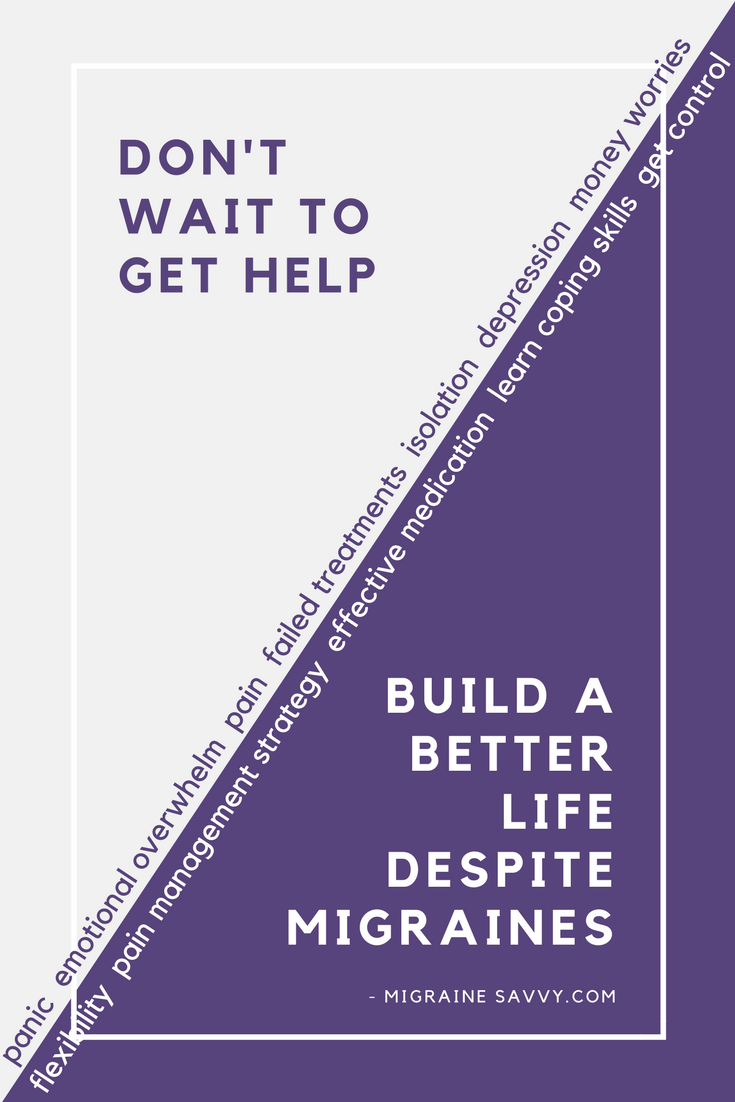 Find the right help at the right time @migrainesavvy