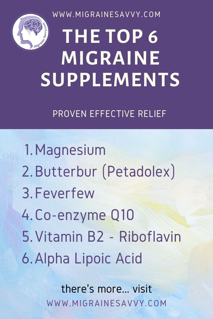 Are There Effective Supplements To Stop Migraines?