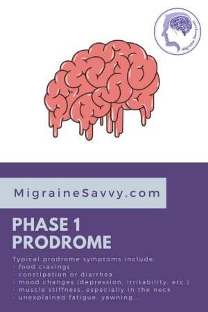 Phase 1 is the prodrome.@migrainesavvy #migrainerelief #stopmigraines #migrainesareafulltimejob