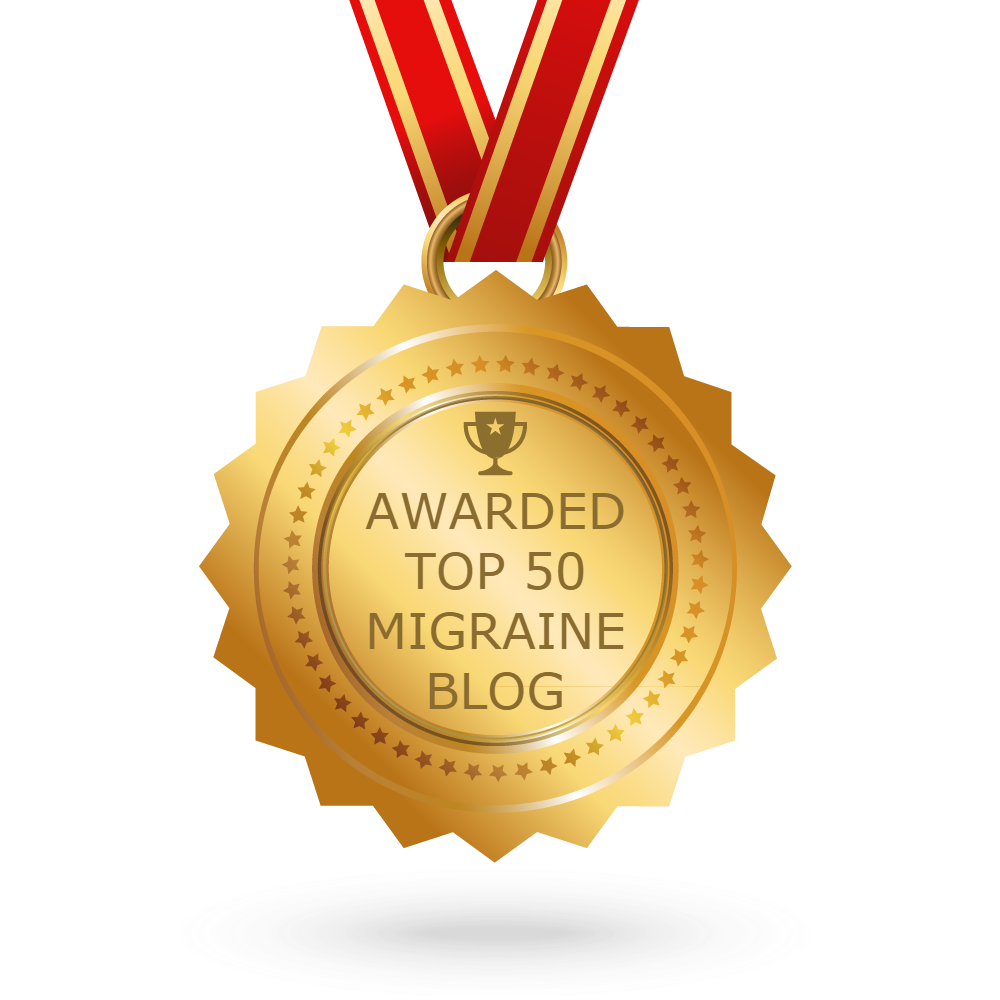 Voted #15 Top Migraine Blog... YAY!