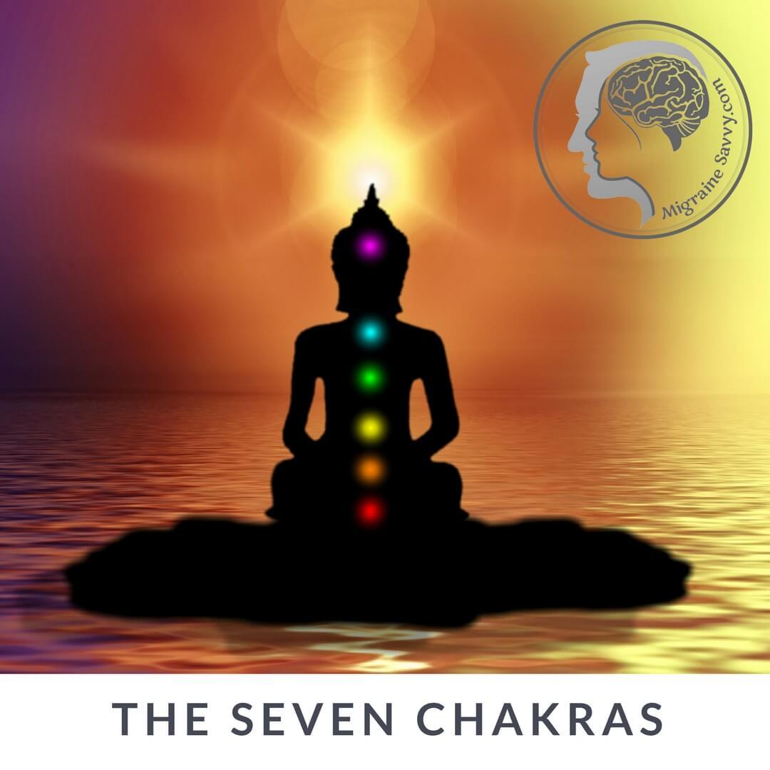 The Chakra System @migrainesavvy #migrainerelief #stopmigraines #migrainesareafulltimejob