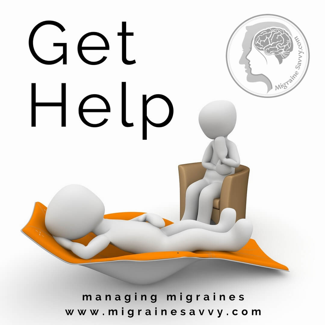 Counseling Sessions In Person or Online Can Help You Learn Coping Skills @migrainesavvy