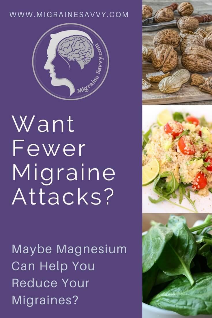 Can Magnesium Help With Migraine? @migrainesavvy #migrainerelief #stopmigraines #migrainesareafulltimejob