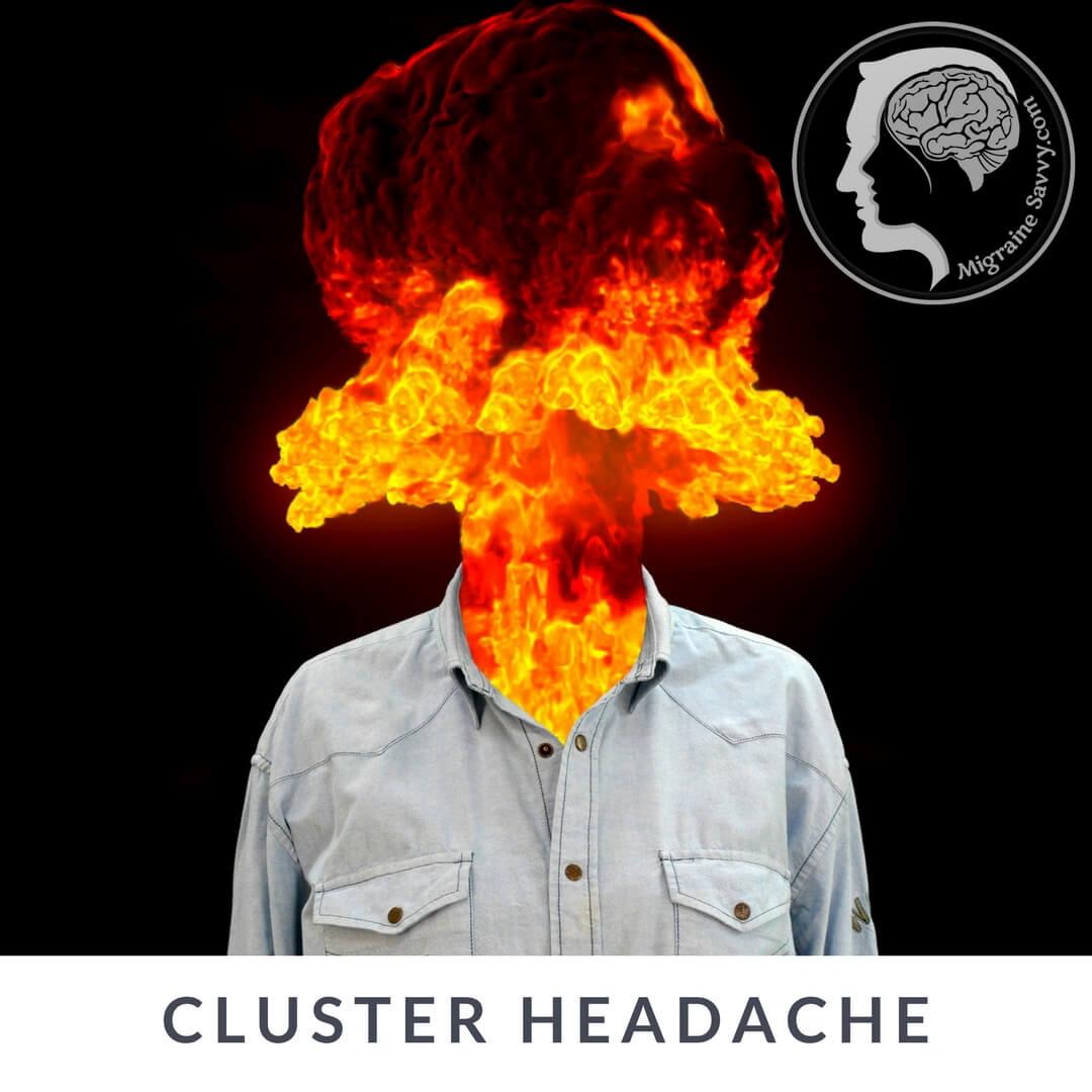 Cluster Migraines in Men @migrainesavvy