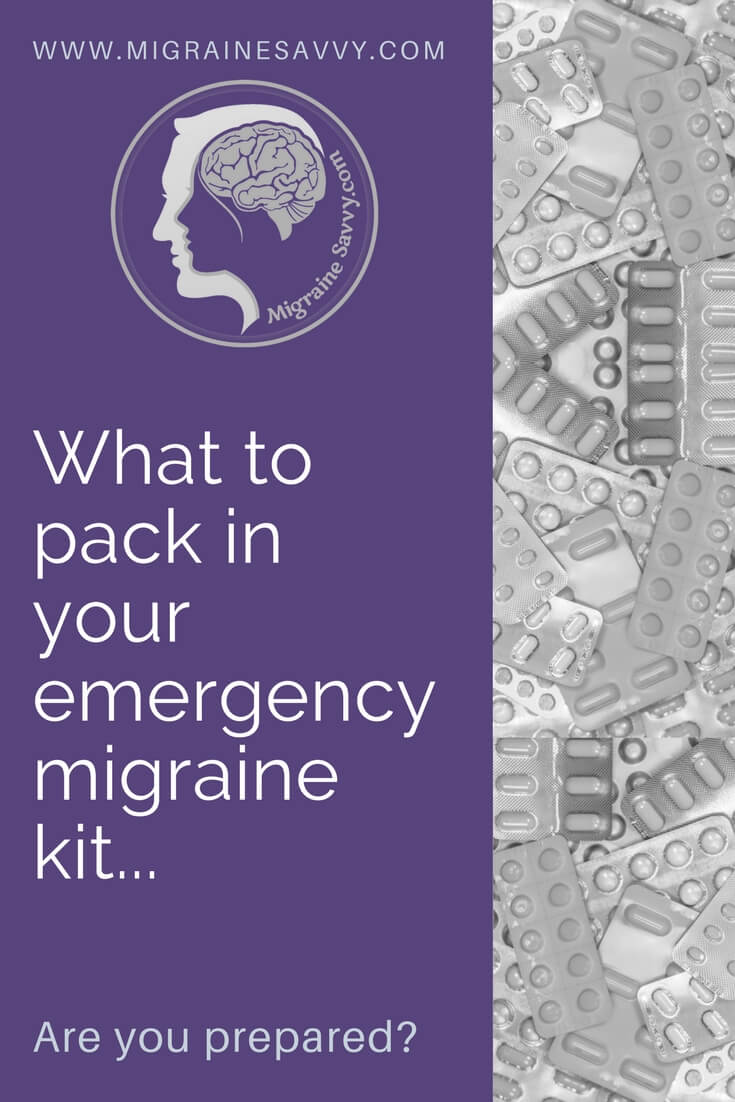 Are you prepared for your next attack? @migrainesavvy #migrainerelief #stopmigraines #migrainesareafulltimejob