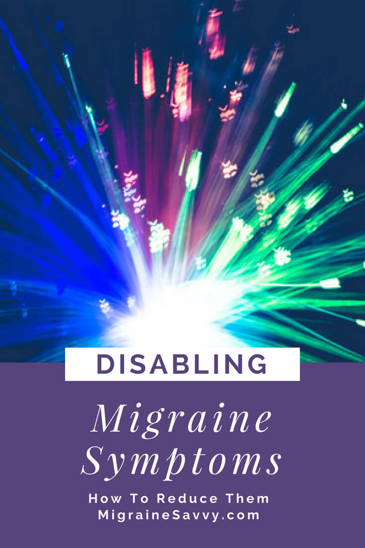 Soothe Your Disabling Migraine Symptoms @migrainesavvy #migrainerelief #stopmigraines #migrainesareafulltimejob