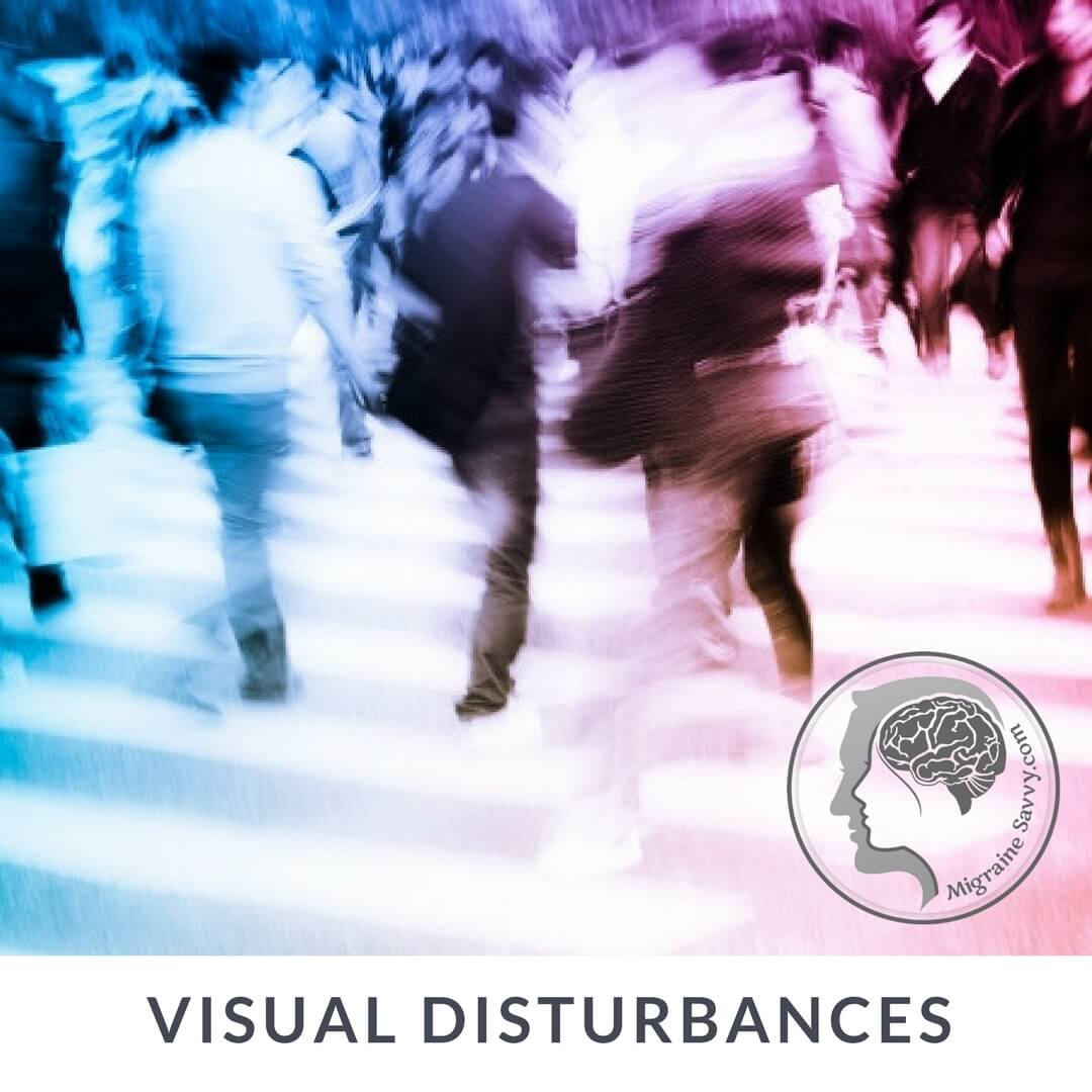 Blurry vision is common with migraine. Crowds and noise become overwhelming. @migrainesavvy #migrainerelief #stopmigraines #migrainesareafulltimejob
