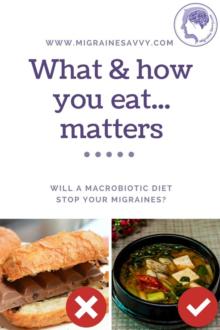 Will diet alone stop an attack? @migrainesavvy