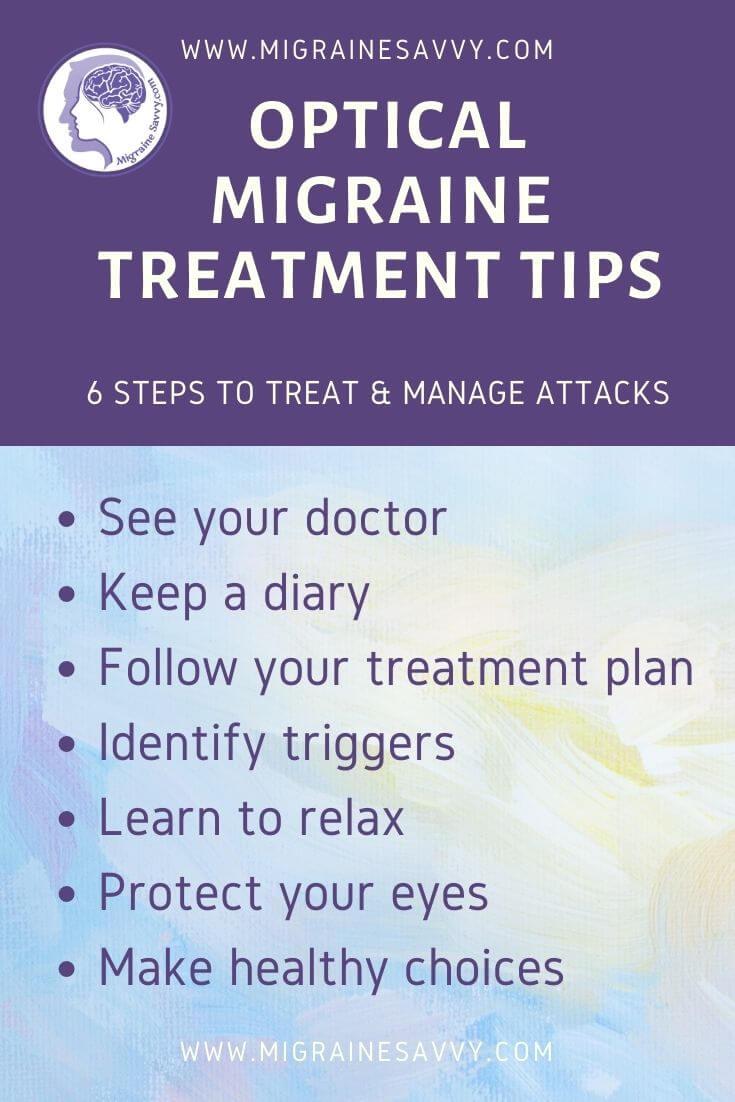 Optical Migraine Treatment Tips @migrainesavvy