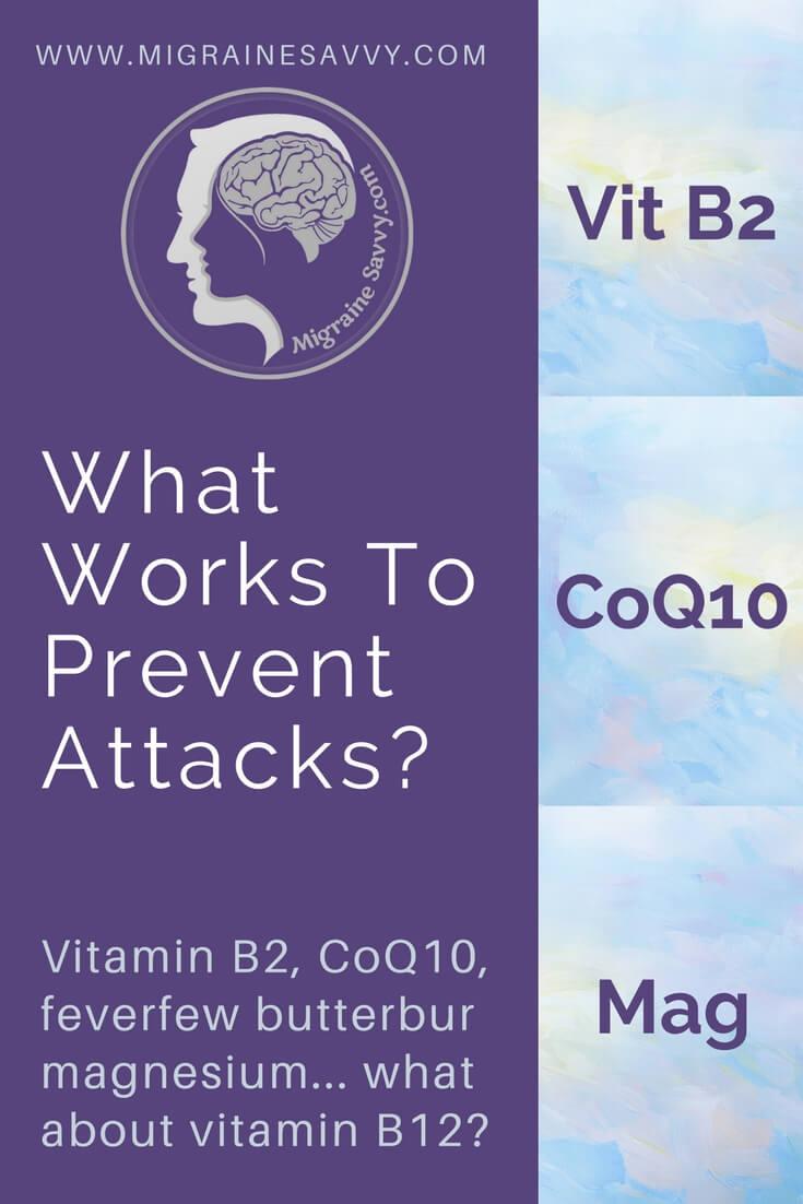 What Migraine Supplements Work? @migrainesavvy