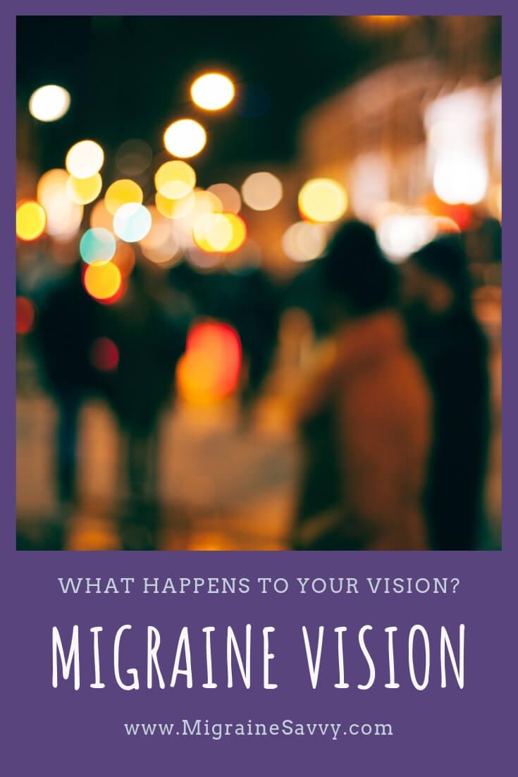 5 Steps For Better Migraine Vision Symptom Management @migrainesavvy #migraine #headache
