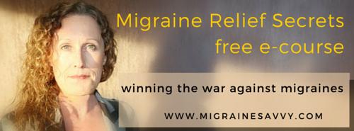 Register Here For Your Migraine Relief Secrets Free e-Course