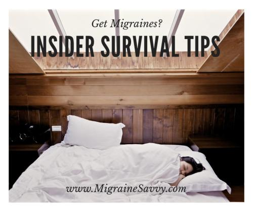 Learn to live well despite migraines @migrainesavvy