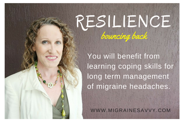 Resilience is essential @migrainesavvy