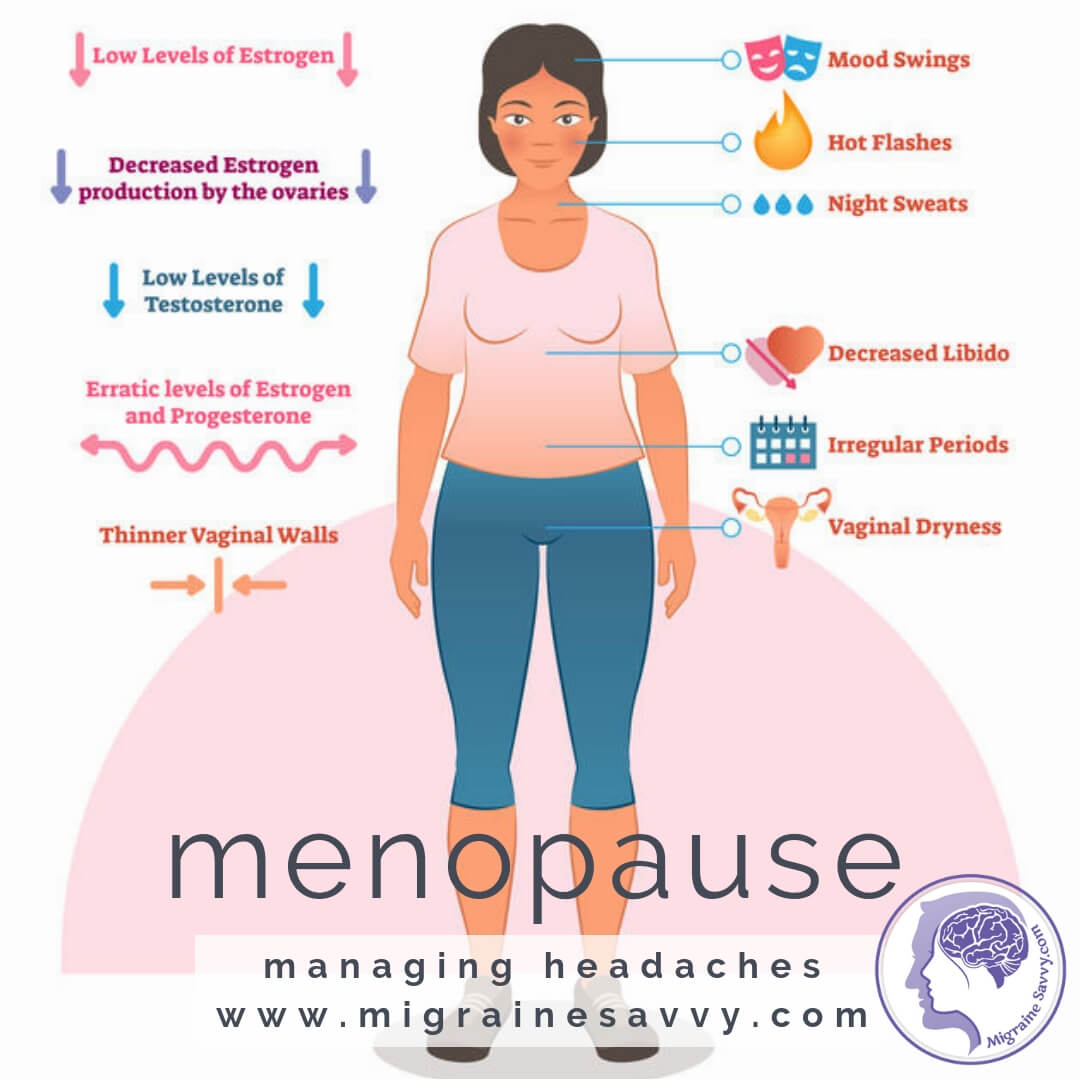 Learn How To Stop Menopause Headaches @migrainesavvy