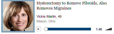 NY Times Voice of Migraines