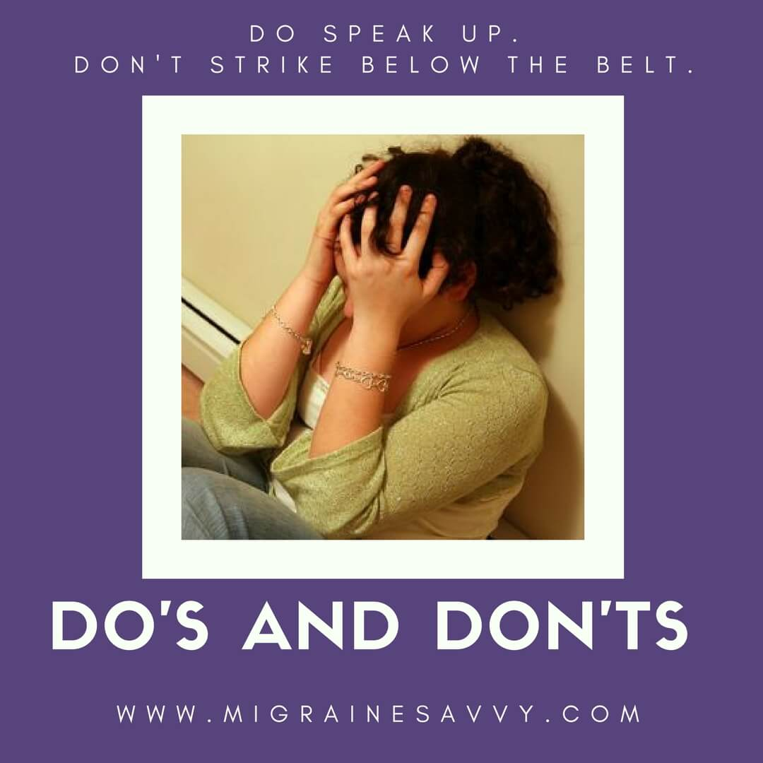 Anger Management Tips @migrainesavvy