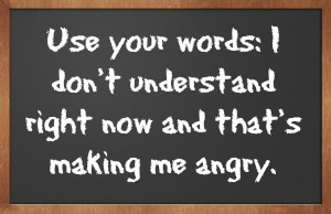 Anger Management for Migraines Tip #2 - Use Your Words @migrainesavvy