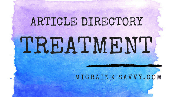 Click here for the article directory for Treatment and Prevention