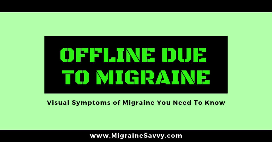 Blurred Vision and Headache: 7 Symptoms You Need To Know About @migrainesavvy #migraine #headache