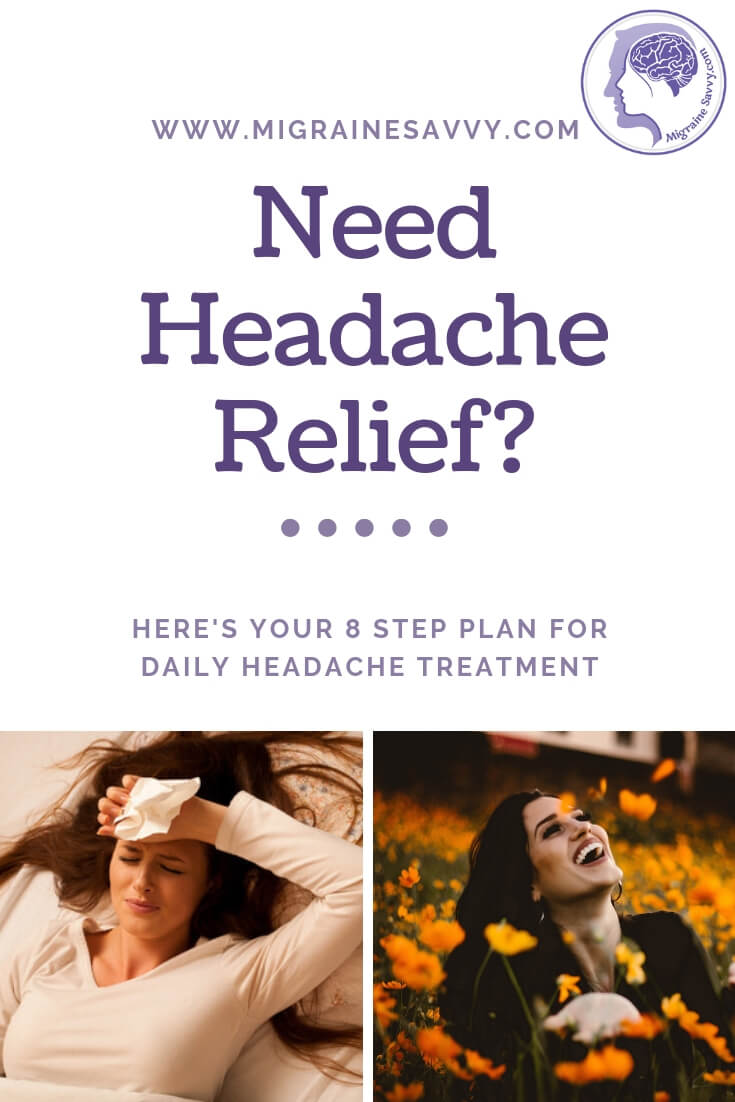 Does your chronic daily headache treatment feel futile? Visit this page for some natural solutions @migrainesavvy #migrainerelief #stopmigraines #migrainesareafulltimejob