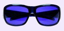 Chronic Migraine Blue Tinted Lens