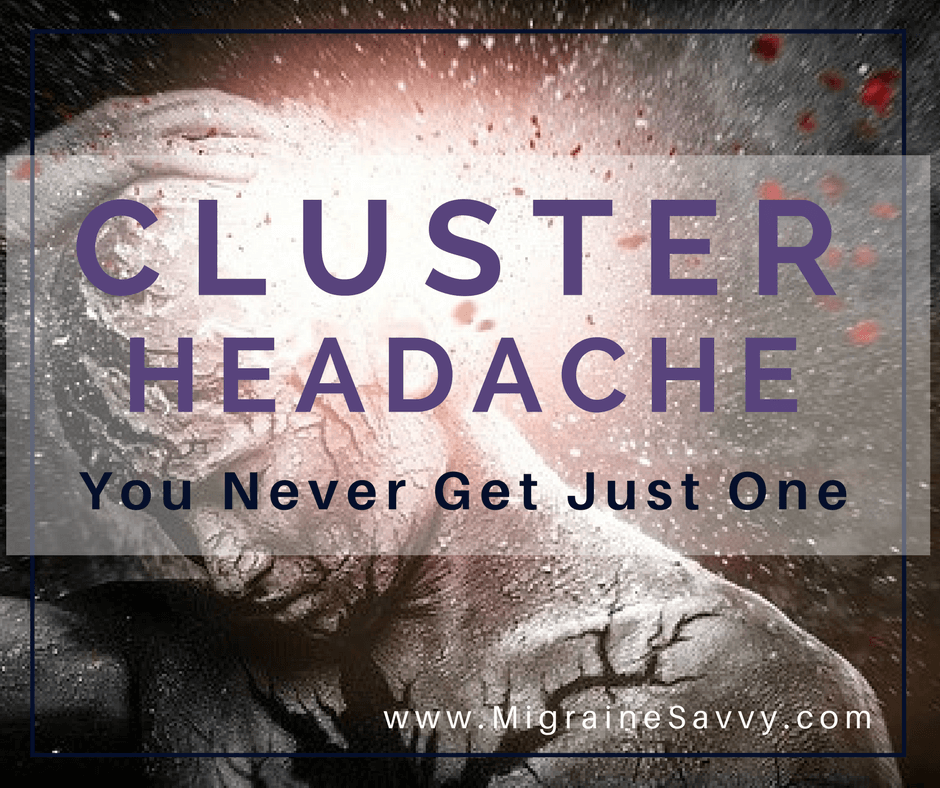 Cluster Migraines Are Brutal @migrainesavvy
