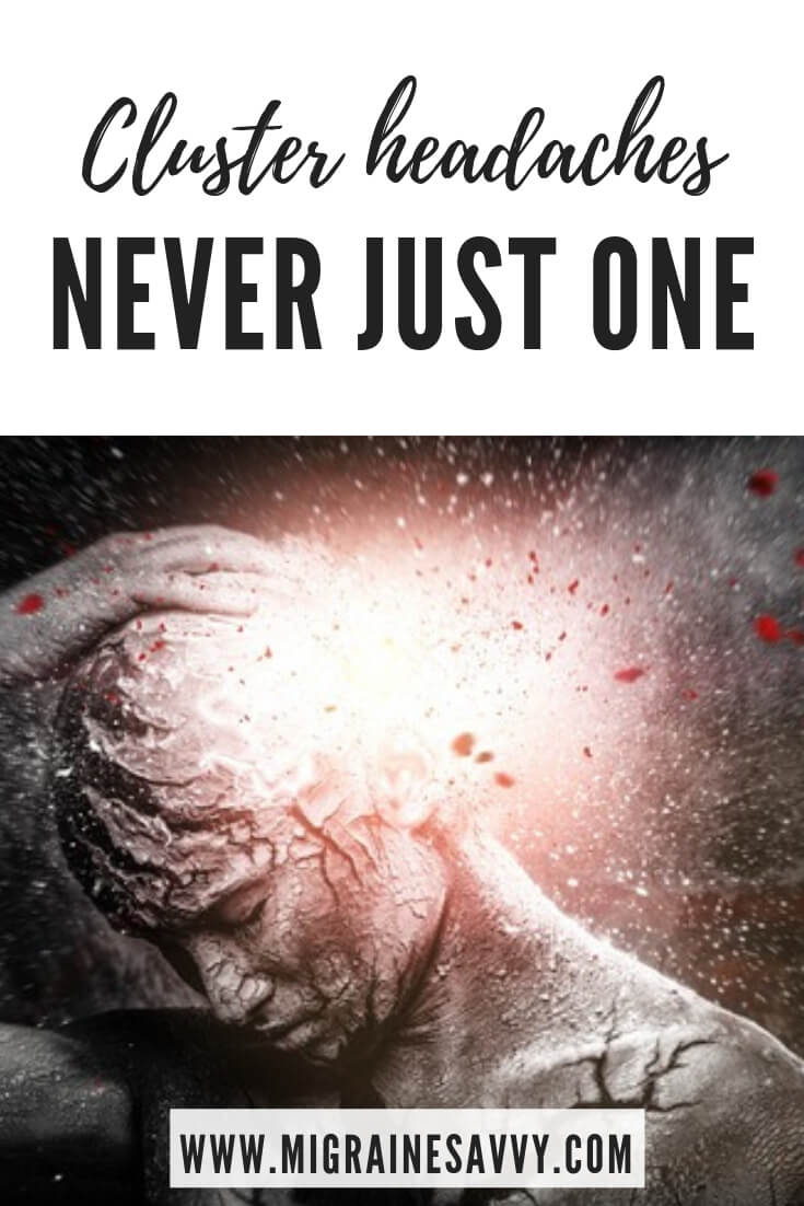 You never get just one cluster headache @migrainesavvy #clusterheadaches