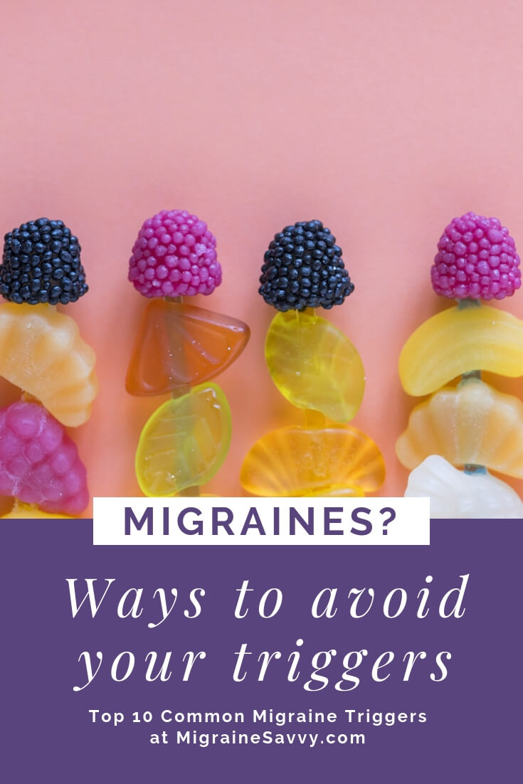 Are there easy ways to avoid your migraine triggers? Come find out @migrainesavvy