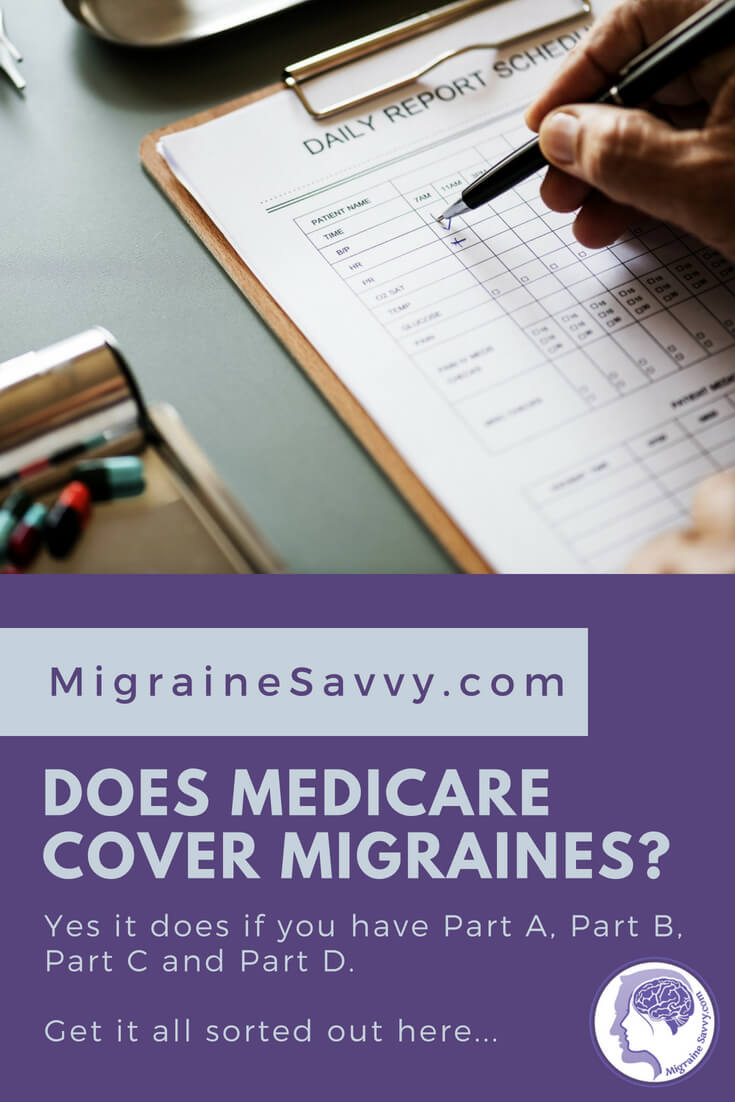 How Medicare covers migraine treatment @migrainesavvy #migrainerelief #stopmigraines #migrainesareafulltimejob