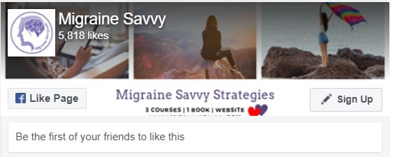 Like The Migraine Coach on Facebook