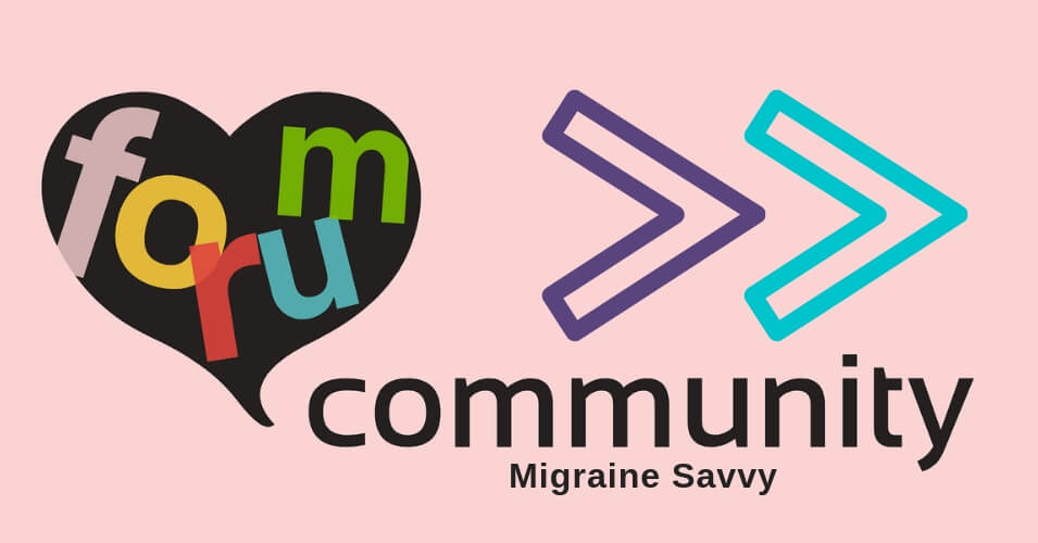 Click here to see the headache forum submissions @migrainesavvy