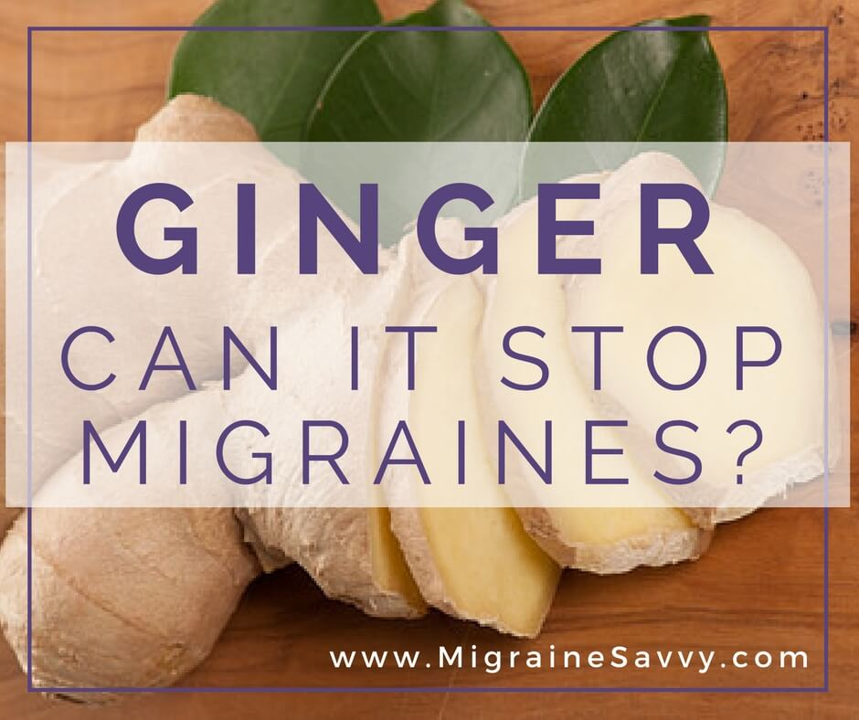 Home Remedy for Migraine Attacks: Ginger