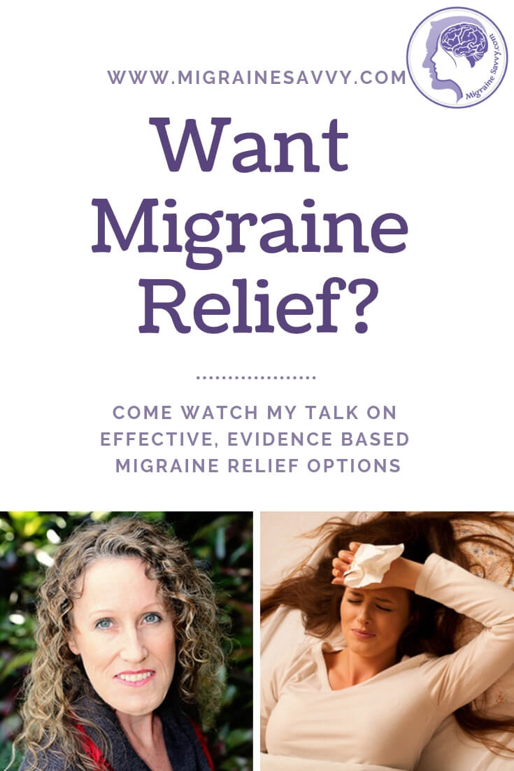 Watch my interview on the Living Pain Free Summit for migraine relief tips and strategies you can start using right now @migrainesavvy #migrainerelief #stopmigraines #migraineheadaches