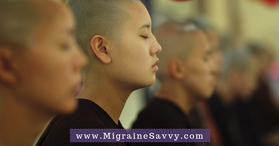 Meditation For Migraine Relief: Your Steps To Inner Peace @migrainesavvy #migrainerelief #stopmigraines #meditation