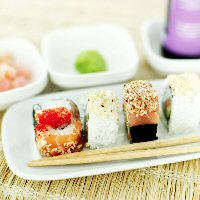 Migraines and food sushi