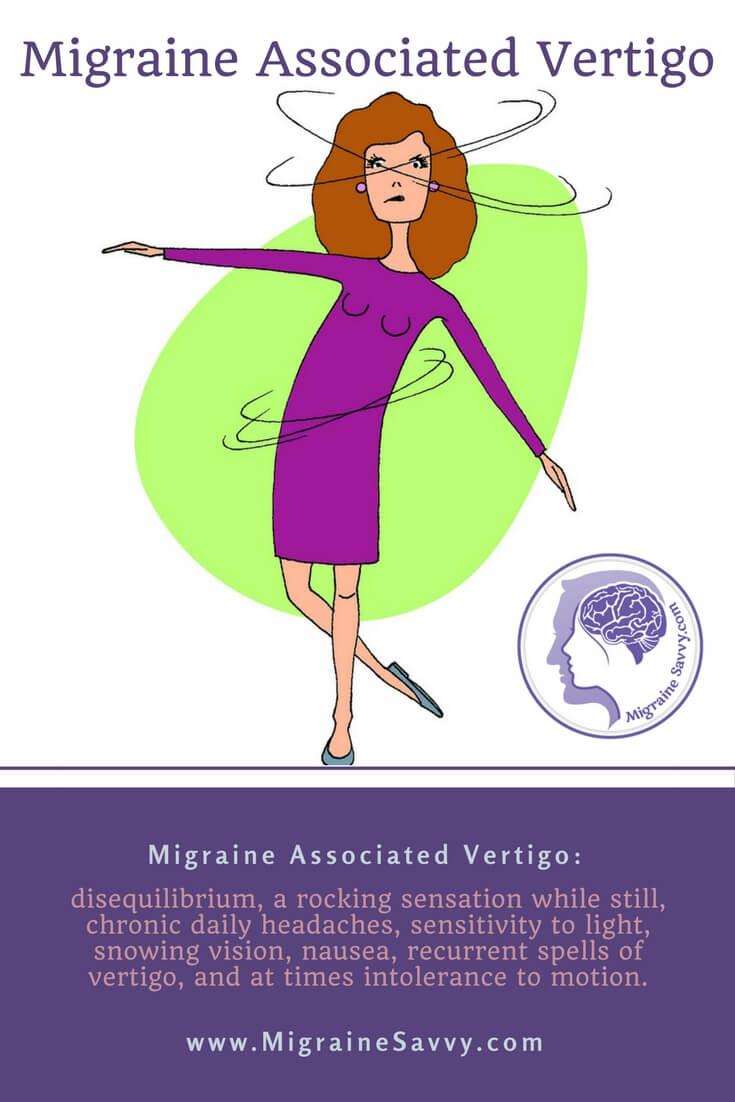 Migraine Associated Vertigo Is More Than Constant Dizziness @migrainesavvy #migrainerelief #stopmigraines #migrainesareafulltimejob