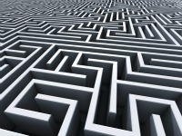 Migraines can be quite a maze.