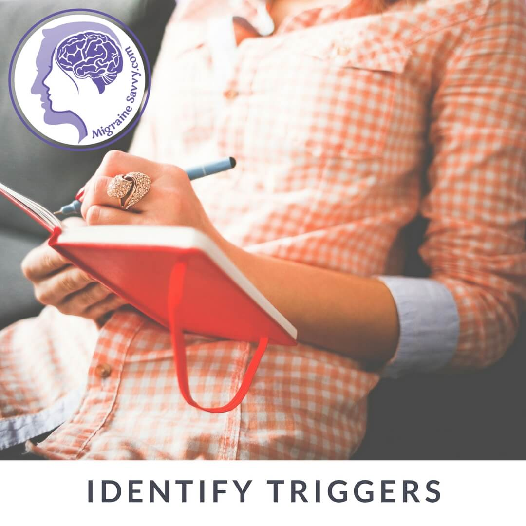 Keep a migraine diary to help you identify your triggers @migrainesavvy