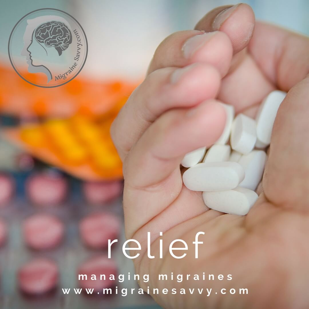 Watch what you take to find pain relief. @migrainesavvy