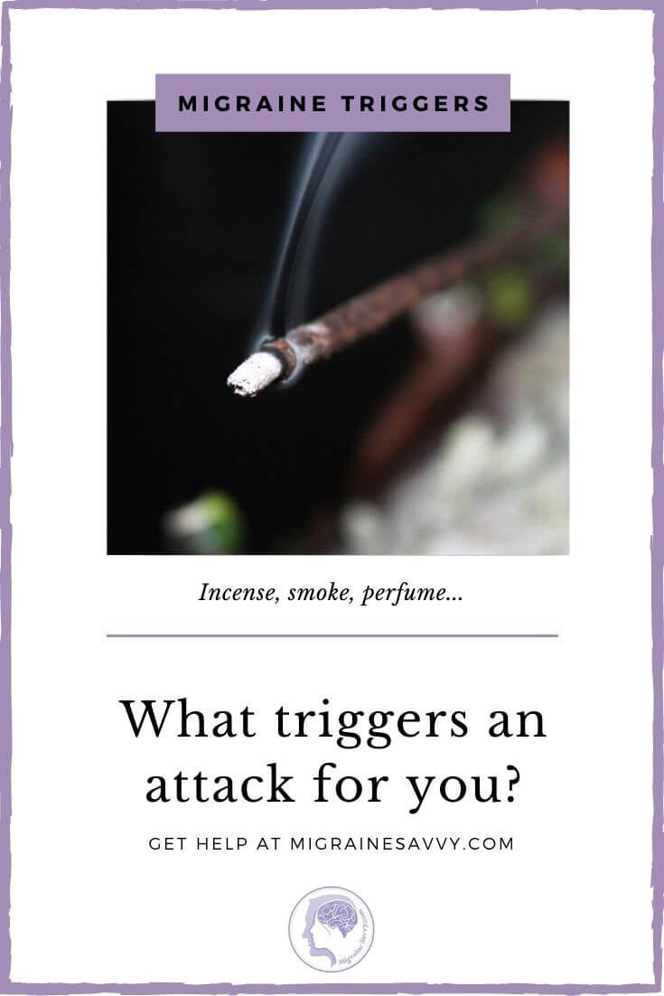 Migraine Headache Trigger Incense
