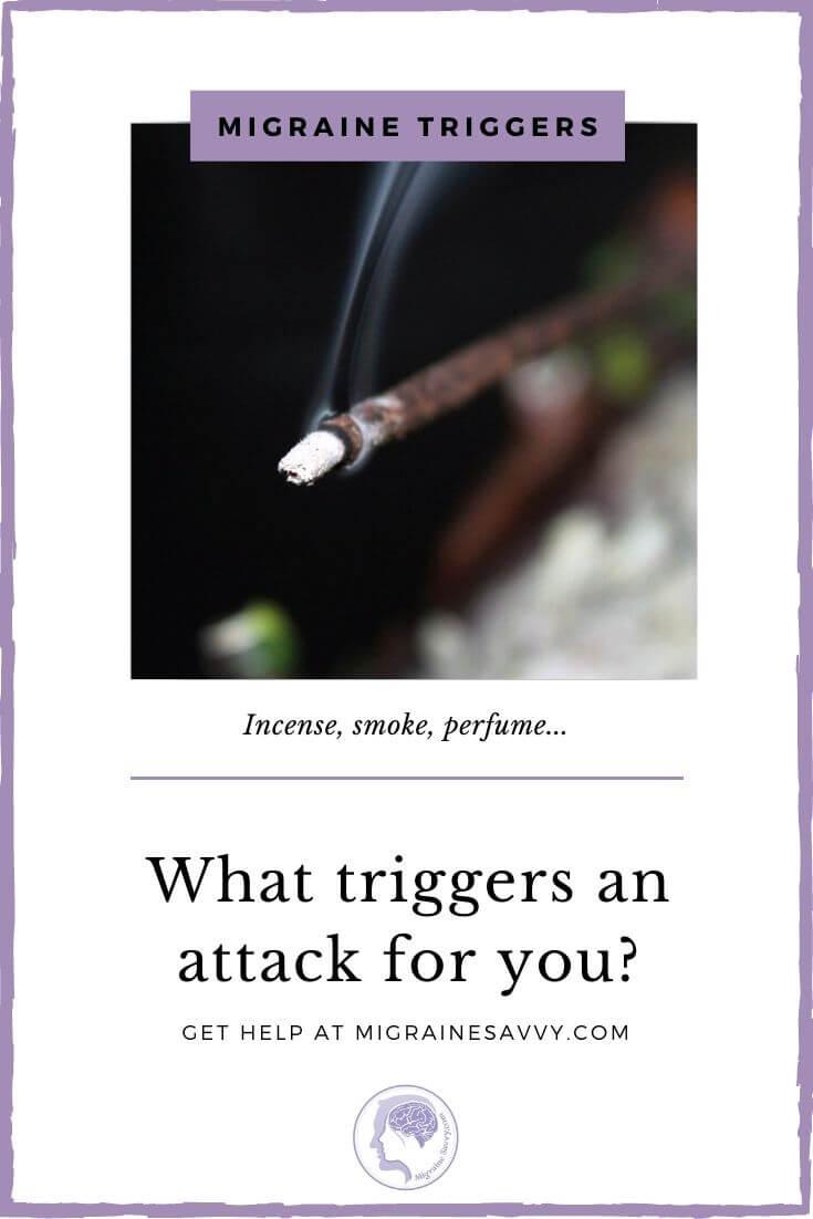 Migraine Headache Trigger Incense
