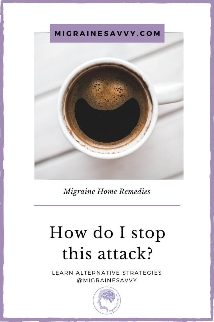 An Easy Migraine Home Remedy
