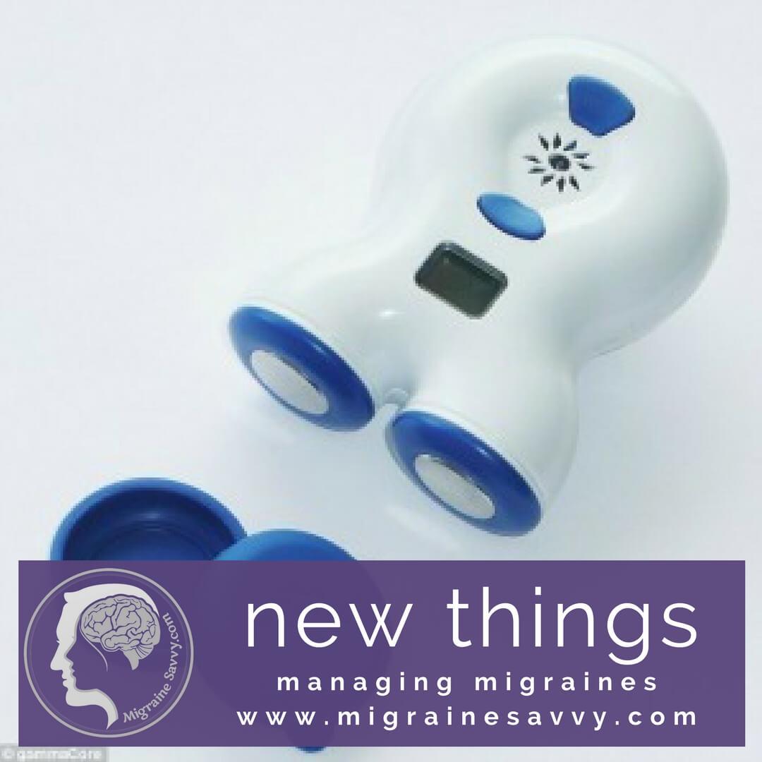 Try new things for migraine prevention like the gammaCore device. @migrainesavvy #migrainerelief #stopmigraines #migrainesareafulltimejob