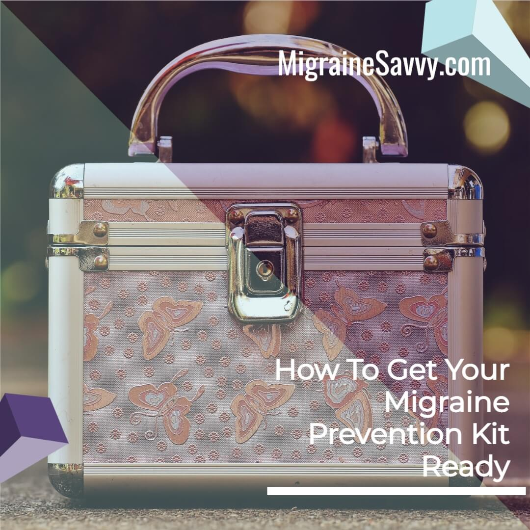 Migraine Prevention Kit Bag