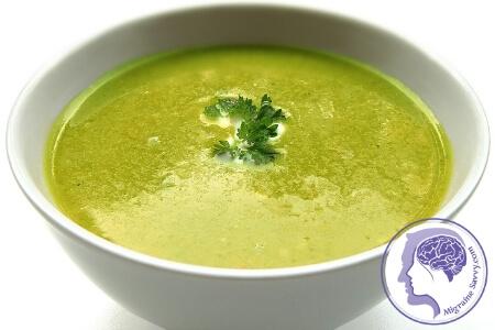 Healing Migraine Soup
