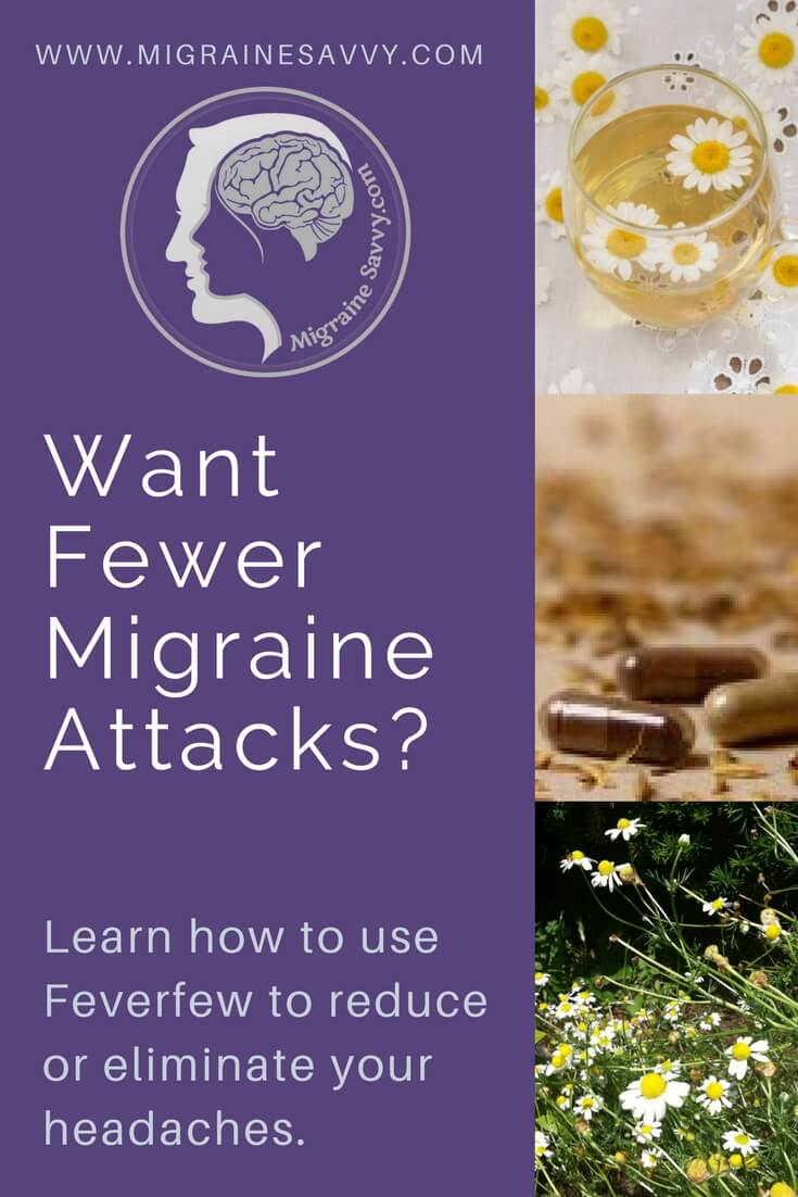 Want fewer migraine attacks? Try feverfew @migrainesavvy