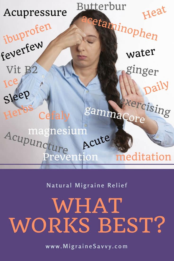 Natural Migraine Relief @migrainesavvy #migrainerelief #stopmigraines #migrainesareafulltimejob