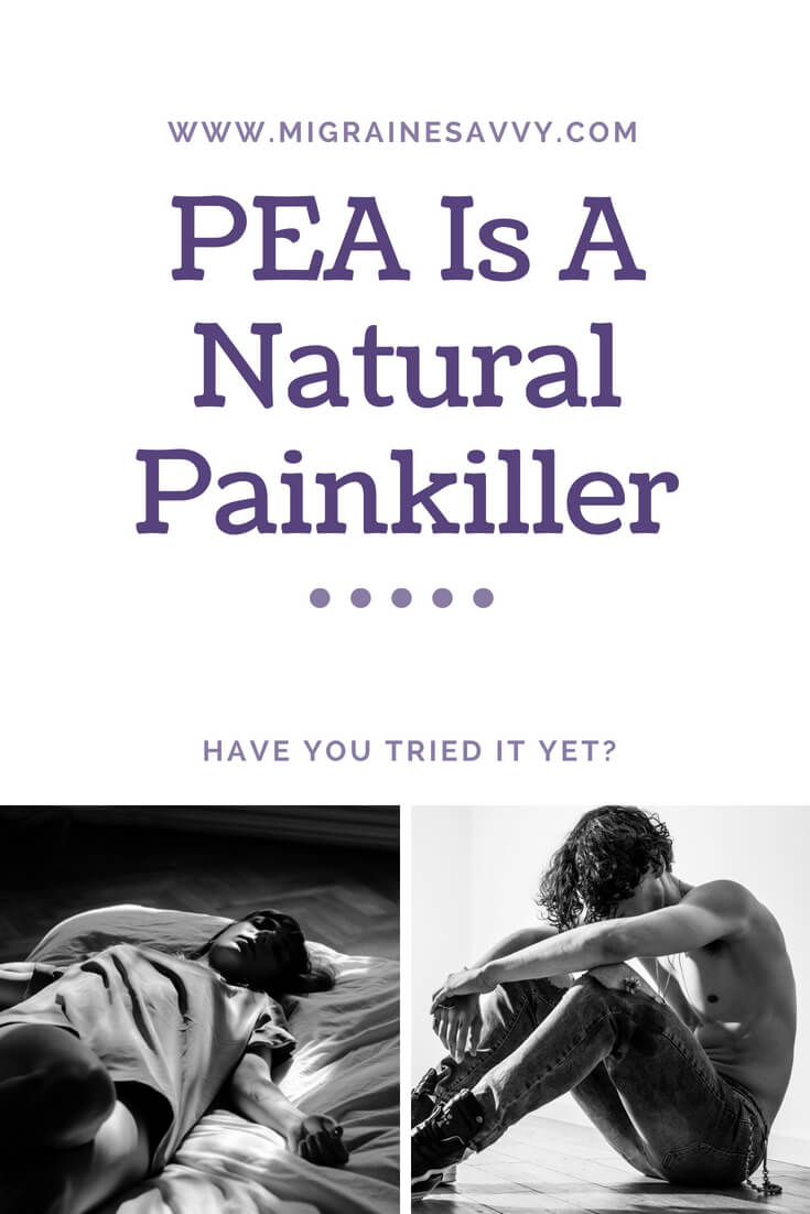 PEA is a natural painkiller. Have you tried it yet? @migrainesavvy #migrainerelief #stopmigraines #migrainesareafulltimejob