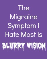 SIlent Migraine Symptom I Hate Most